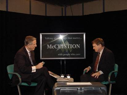 An Intimate Conversation with PBS' NewsHour Anchor, Jim Lehrer – Part 1
