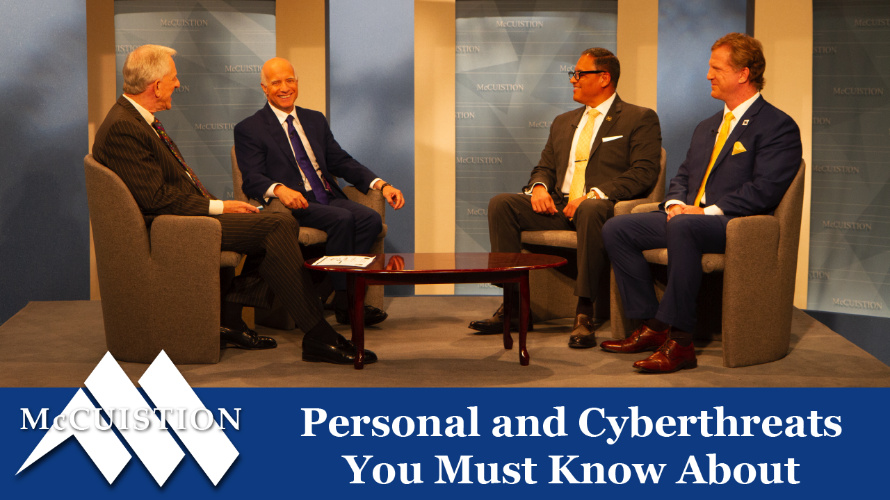 Re-air: Personal and Cyberthreats You Must Know About (2602)