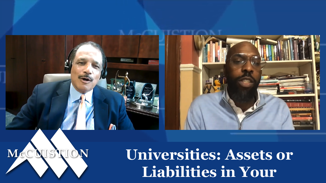 Universities: Assets or Liabilities in Your Community?