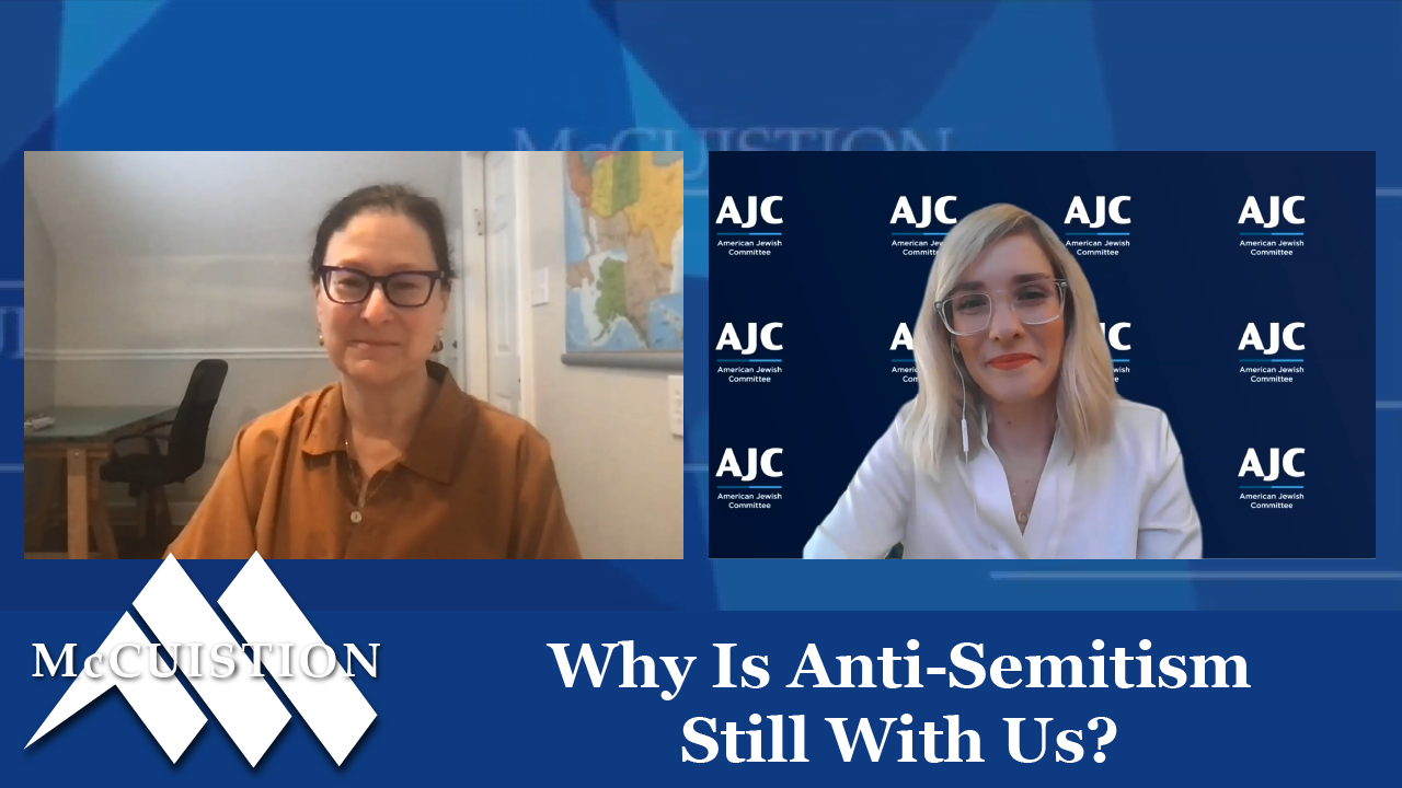 Why Is Anti-Semitism Still With Us?