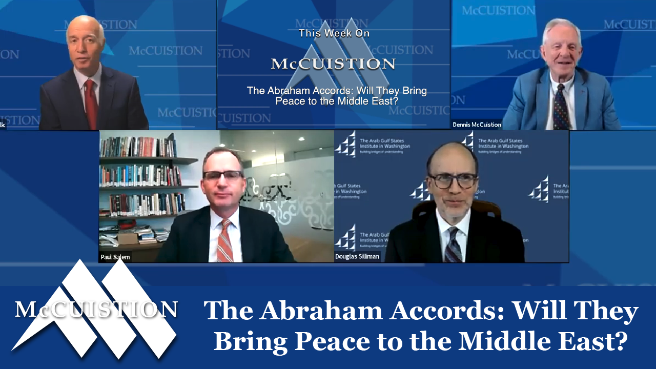 The Abraham Accords: Will They Bring Peace to the Middle East? (2713)