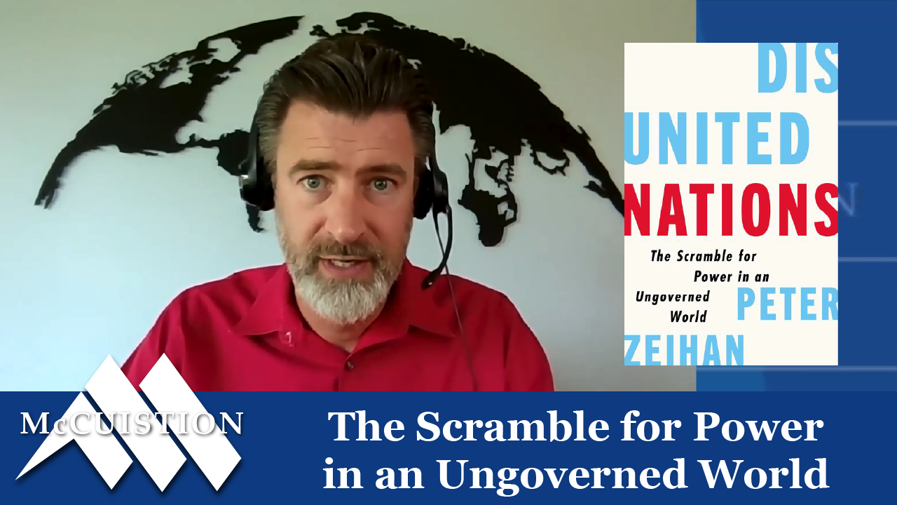 The Scramble for Power in an Ungoverned World